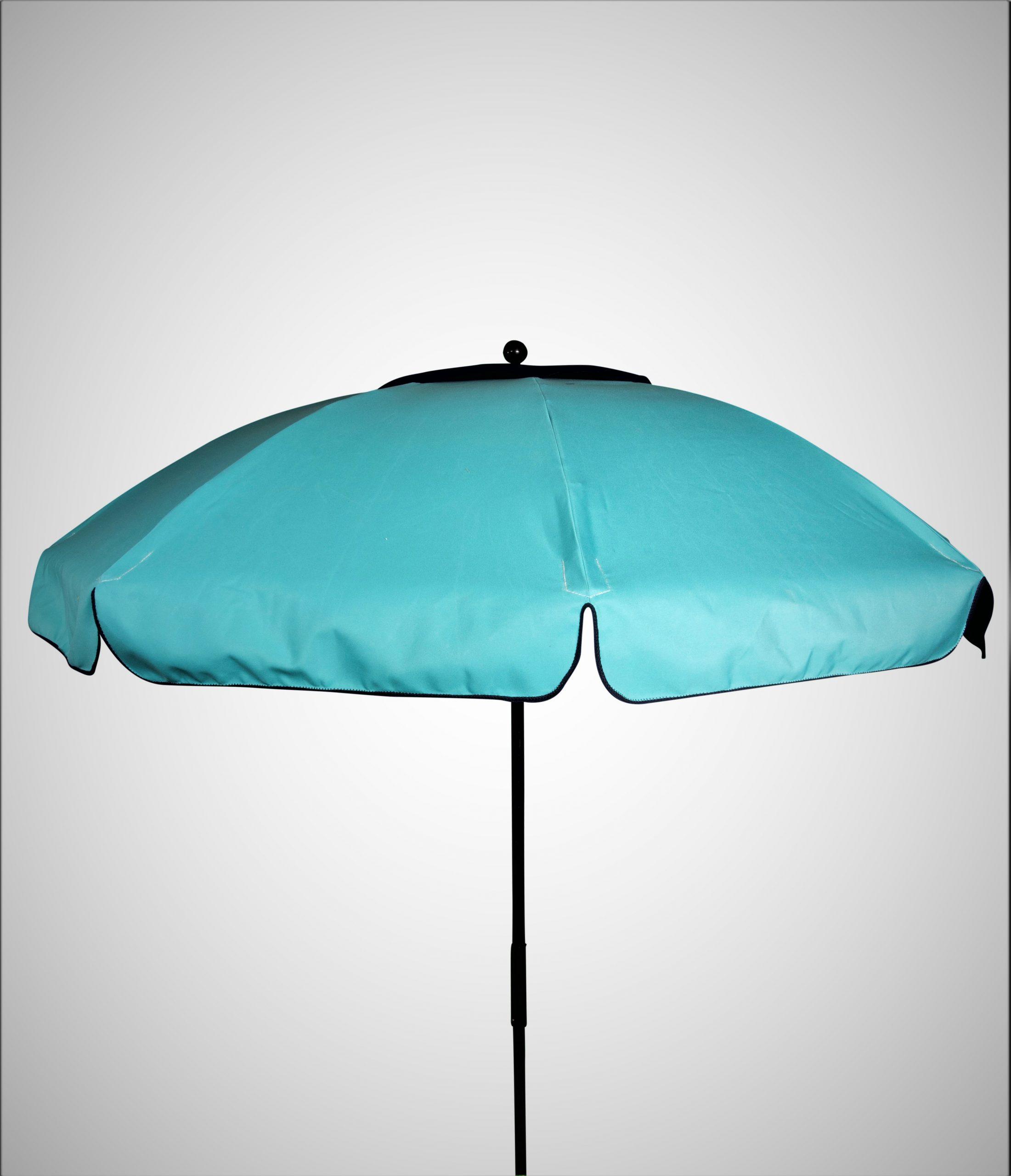 Light blue umbrella