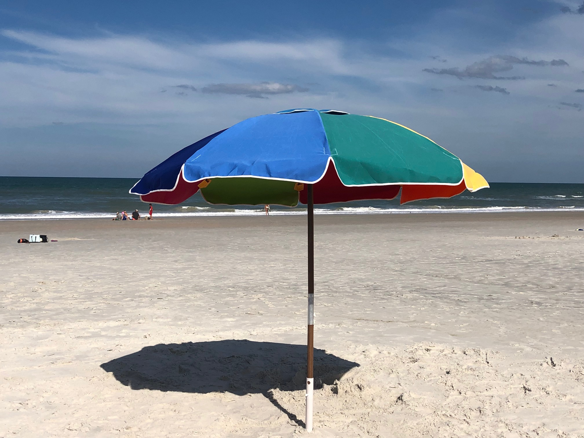 Multi color umbrella
