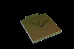 Square pole base