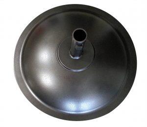 Pole round base