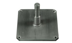 Cantilever deck plate