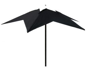 Black star umbrella