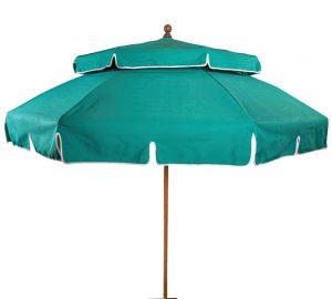 Turquoise umbrella