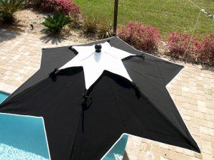 star top umbrella