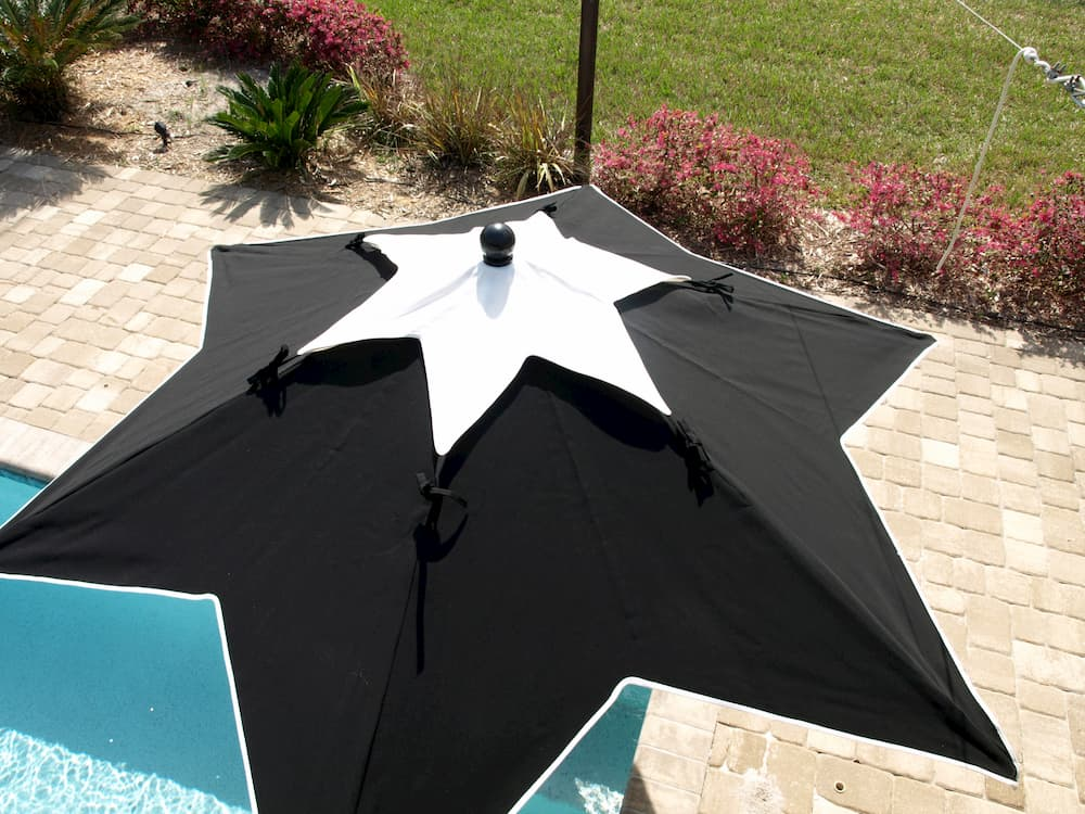 star top umbrella